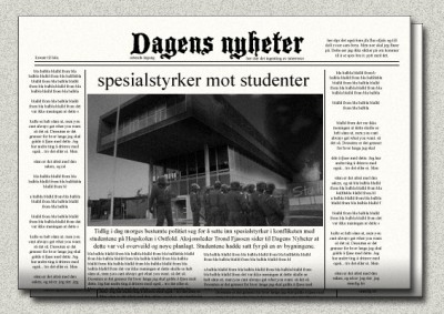 The great student riots of 2008