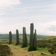 Orkney – standing stones of stenness